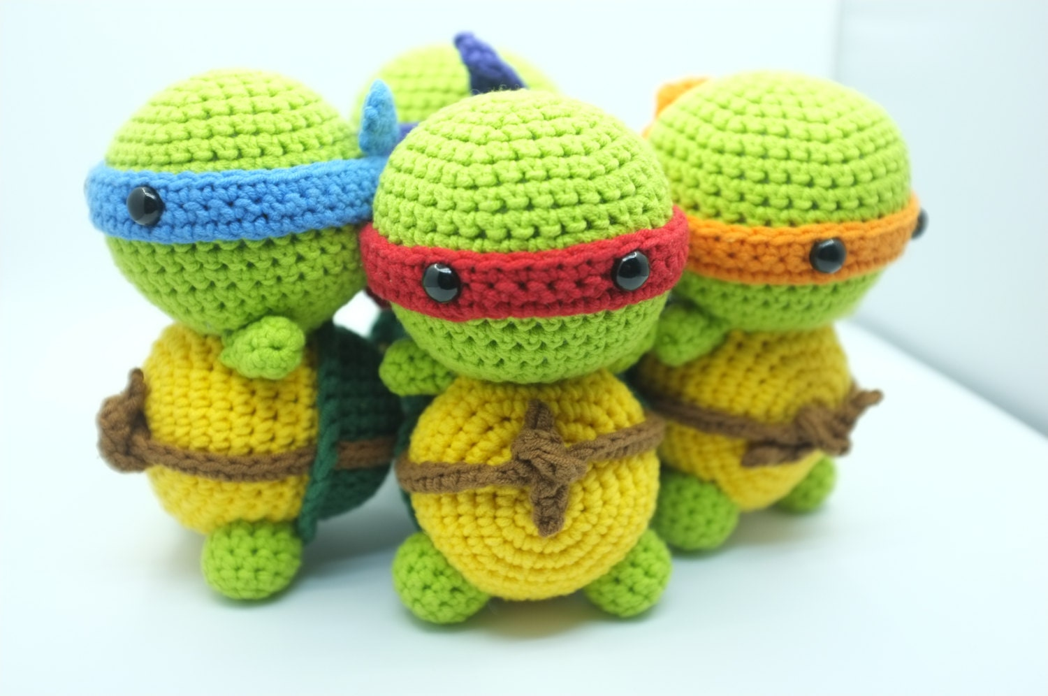 Amigurumi Animals At Work 14 Adorable Amp Active Amigurumi Animals : 18 of the most radical tmnt products money can buy shut up and