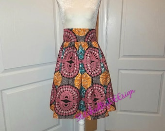 African skirt, Maxi/midi/mini skirt, Ankara fabric, African fabric, summer skirt, colorful clothing, wax fabric