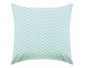 Turquoise Pillow covers, Paris pillow, teal pillows, teal and white pillows,  turquoise and gray pillow, light blue cushions