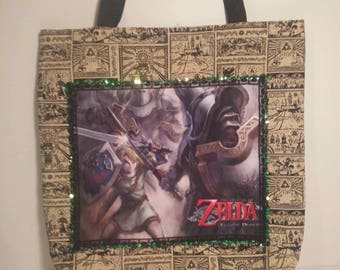 The Legend of Zelda: Twilight Princess tote bag