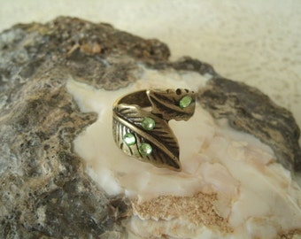 Natures Leaf Ring, wiccan jewelry pagan jewelry wicca jewelry witch witchcraft goddess metaphysical magic viking ring wiccan ring
