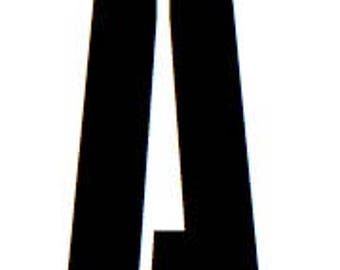 Pack of 26 Army Block Letters-Choose your Size