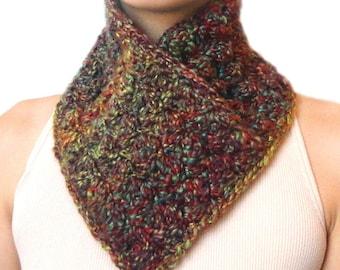 Easy Slip-On Neck Warmer - PDF Crochet Pattern - Instant Download