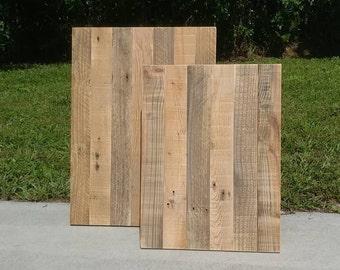 Reclaimed Wood Display Boards - Jewelry Displays - Handmade