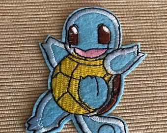 Pokémon Squirtle Iron On Patch