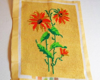 Asters Needlepoint