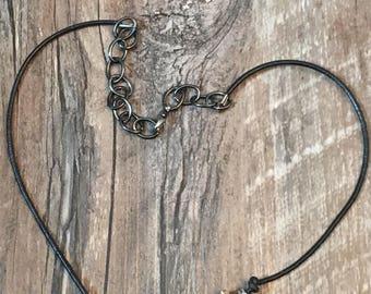 Handmade Deer antler necklace