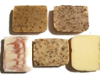 Himalayan Salt Soap Sample, Soap Sample, Soap Bar Set, Soap Sample Set, Soap Sampler, Sampler Set, Sample Set, Handmade Soap Sample, iVIVA
