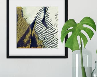Slopes: Abstract Fine Art Print