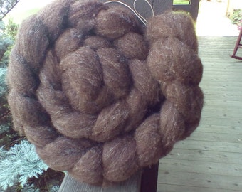 4oz. natural colored Corriedale wool roving
