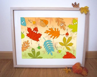 "Art print 40x30 cm ""Autumn"""