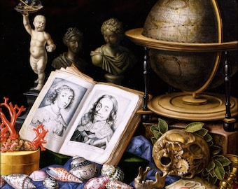 Poster, Many Sizes Available; Allegory Of Charles I Of England Still Life By Carstian Luyckx