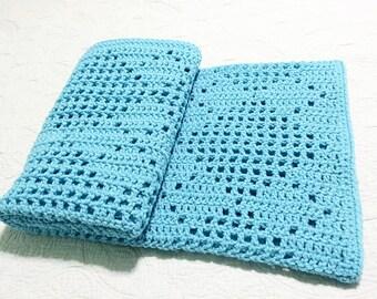 Crochet Blanket Pattern Argyle