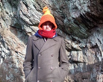 Cunning Hood / Jayne Cobb / Firefly / Serenity / Geek Winter Wear / Men / Woman / Cosplay / Bowncoat / Crocheted