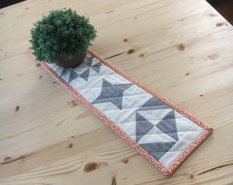 Farmhouse Mini Quilt, Table Runner, Wall Hanging