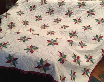 Vintage quilt hand made