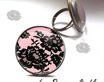 romantic lace ring