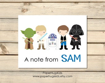 Space stationery, Space Note Cards, Personalized Note Cards, Kids Thank You Cards, Personalized Stationery, Kids Note Cards / Digital File