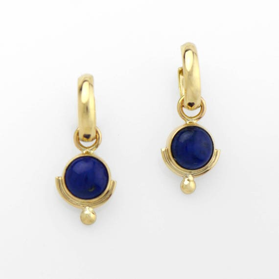lapis earrings lazuli natural stm