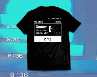 XANAX TEE (BLACK)