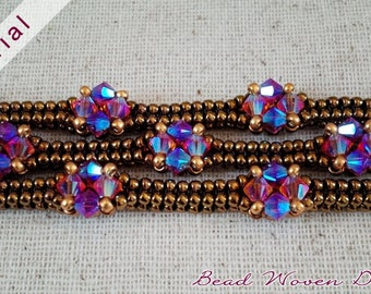 Celeste Bracelet Tutorial: PDF and Video instructions