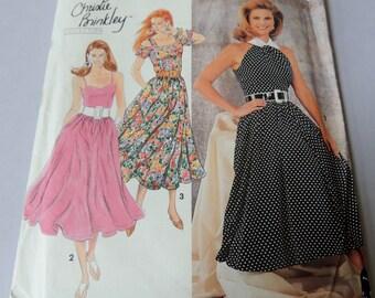 CHRISTIE BRINKLEY 10-14 Simplicity 7799 Uncut Dress Pattern
