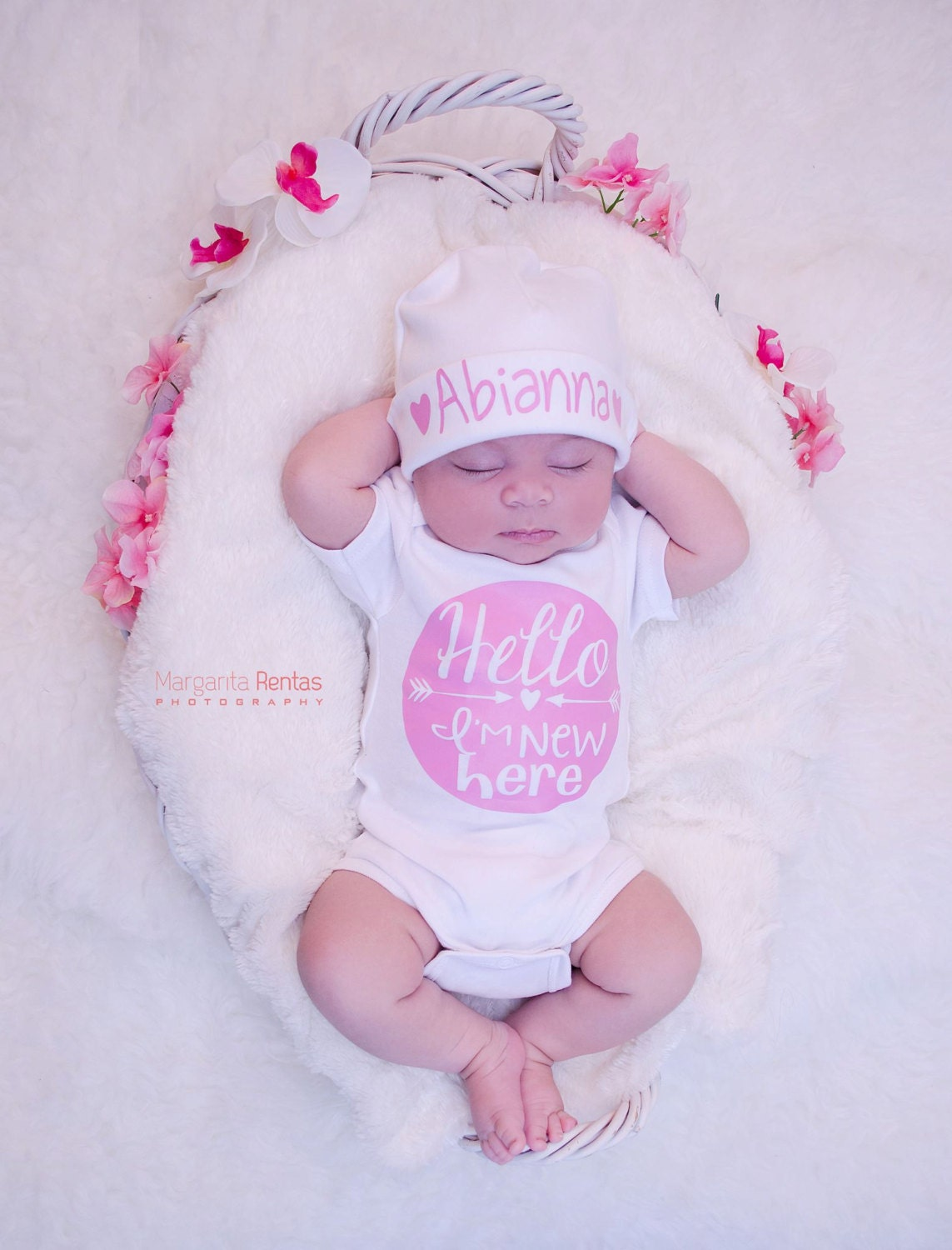 Newborn Baby Girl Home From Hospital Outfit