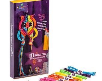 Craft-tastic(r) Macrame Owl Kit - Asst Colors (dar10013107)