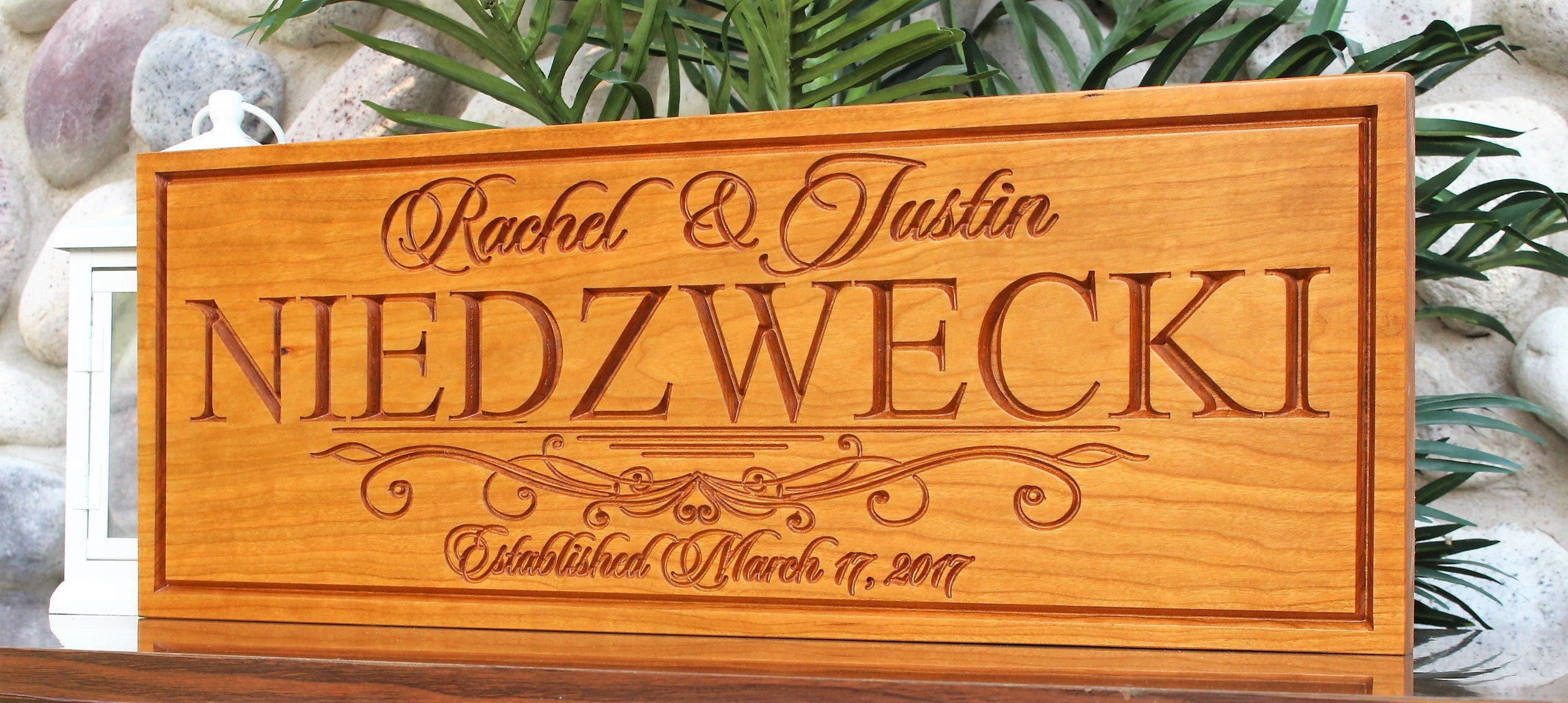 Personalized Wedding Gifts For Groom: Personalized Wedding Gift For The Couple-bride And Groom