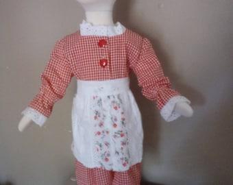 Dirndl Dress with apron