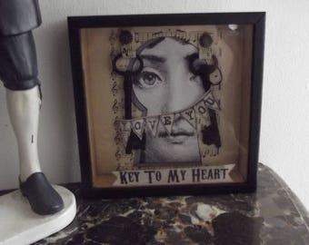 Frame box framed CABINET of CURIOSITIES