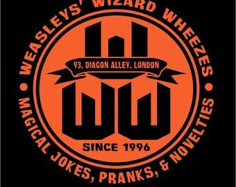 Harry Potter WEASLEY WIZARD WHEEZES t-shirt / hooded sweatshirt hoodie