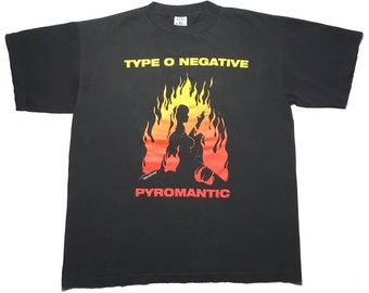 TYPE O NEGATIVE vintage 1997 shirt xl