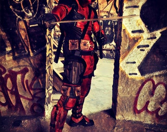 Deadpool ... DOORWAY To KNOW WHERE? ... Poster / Print