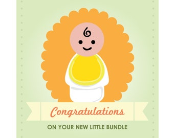 Fisher Price Baby Shower Card