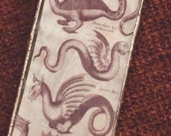 Dragon/Serpent Creature Chart Necklace