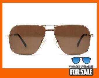 Vintage sunglasses Nikon NK4520 original made in Japan 1988