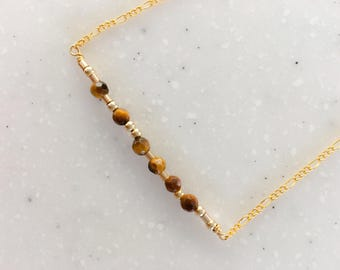 """Gold """"Knitter"""" Necklace"""