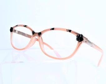 Paw Print Reading Glasses, +1.50 eyeglasses, fun, dog, cat