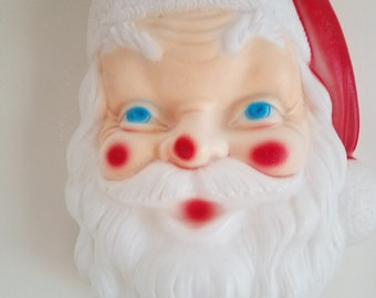 Vintage Santa Claus Illuminated Head Decoration