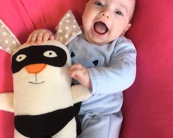 Plush Bunny, Plush Toy, Stuffed Bunny, Bunny Rabbit, Superhero Plush Toy, Plush Rabbit, Baby Shower Gift, Gift for Babies,Cute Bunny Softies