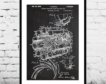 Airplane blueprint etsy more colors malvernweather Image collections