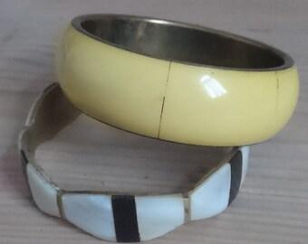 Two vintage bangles