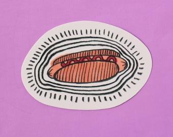 Hotdog  - Sticker