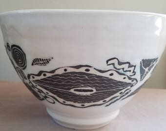Hand Made Ceramic Bowl #27