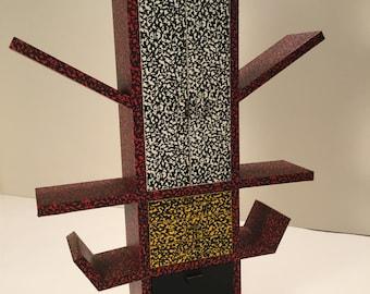 Ettore Sottsass editioned CASABLANCA miniature bookcase for Memphis Milano
