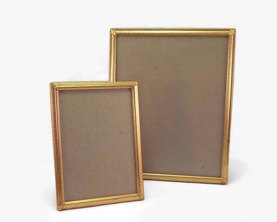 Vintage Frame Set, Gold Photo Frames, Picture Frames , 8 x 10 Frame ...