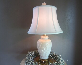 Aladdin Lamp Alacite Lamp Antique Lamp White Lamp