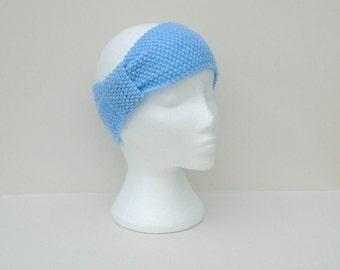 Hand Knit Headband, Winter Accessories, Handmade Ear Muffs, Turban Style Warmers, Knit Ear Warmers, Modern Head Wrap, Ladies Winter Wear,