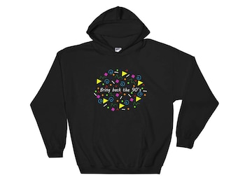 90's Hooded Sweatshirt/Mens Hoodie/Womans Hoodie
